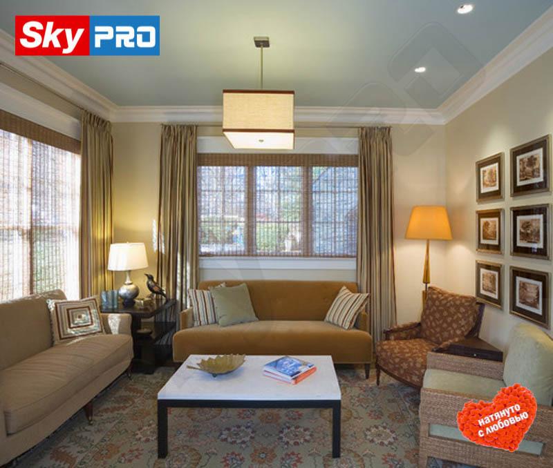 Цветной тканевый натяжной потолок Премиум цена за метр