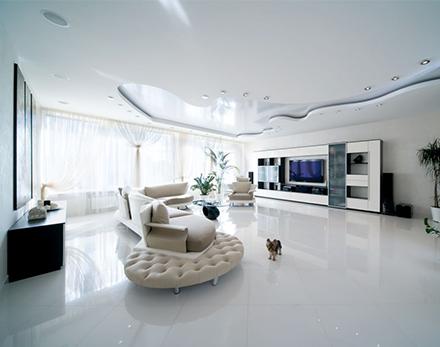 Дизайн потолка в гостиной фото