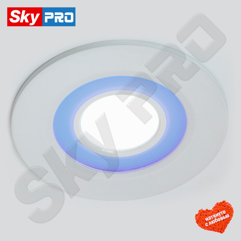Купить светодиодный светильник Альфа x-002 6+2 w Цена