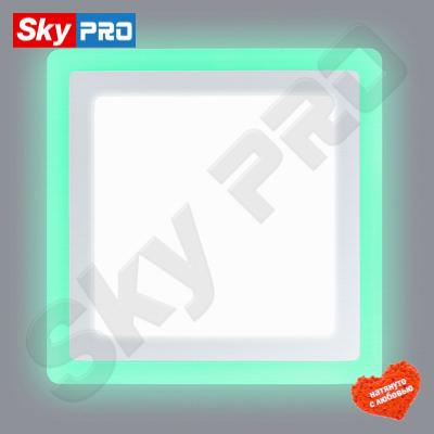 Светодиодный светильник LPL 12+4 трёхцветный
