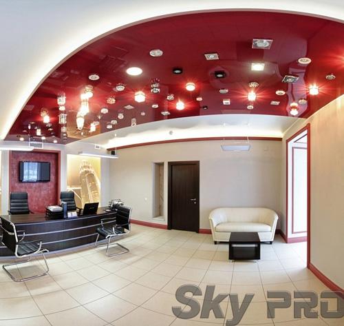 светильники в офисе SkyPRO в Крестах